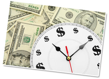 Time is money, it is said
